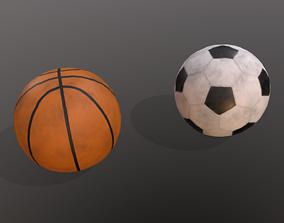 Balls 3D asset VR / AR ready