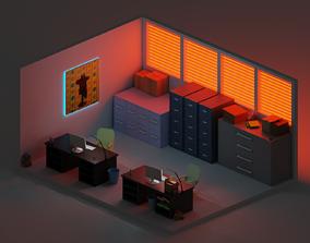 Common office 3D asset
