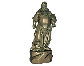 Guan Gong Sculpture 3D print model