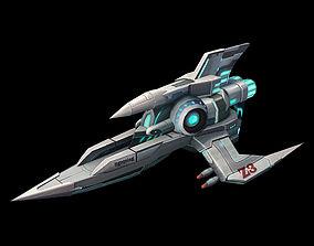 X battleship 01 3D model