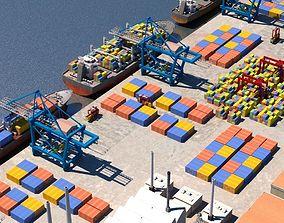 3D Cargo Dockyard