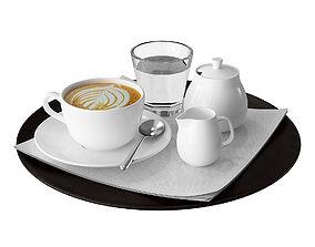 3D Coffee tray