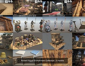 Ancient Egypt Environment Collection 3D