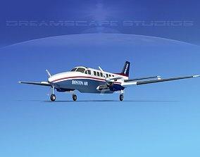 Beechcraft B99 Boston Express 3D model