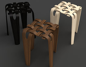 Weave Stool 3D