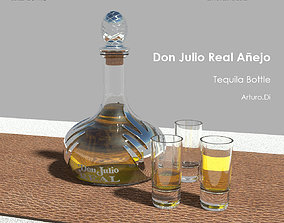 3D model Tequila Don Julio Real Anejo