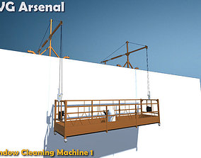 3D model Window Cleaning Machine 1 - HQ