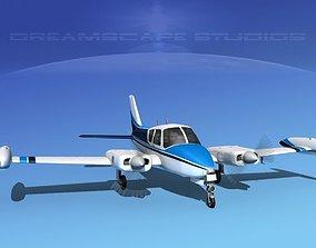 3D model Cessna 310 V12