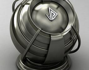 3D model VRAY SHADER---METAL---Holmium