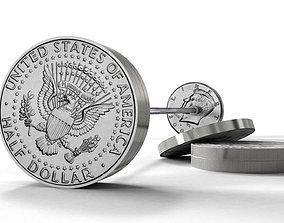 Dollar burbell 3D model