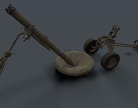 2S12 Sani 120mm Mortar 3D model