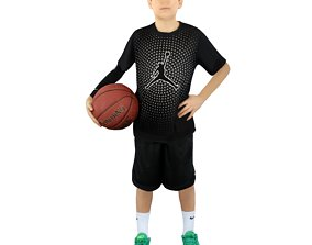 No336 - Basketball Player 3D model