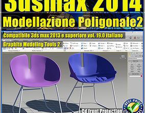 3ds max 2014 Modellazione Poligonale v19 Italiano cd 1