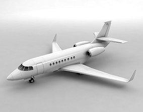 Dassault Falcon 2000 Aircraft 3D asset