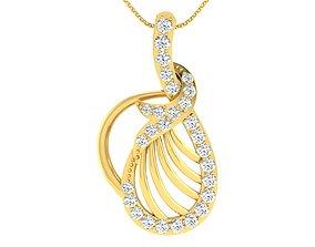 Women pendant earrings set 3dm 3