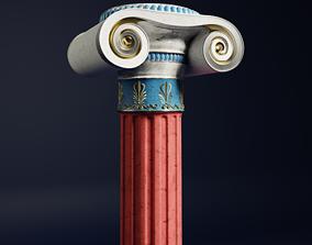 Greek Column 3D architectural