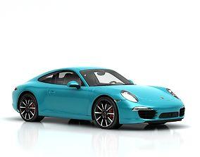 Porsche Carrera S 3D 3dmodel