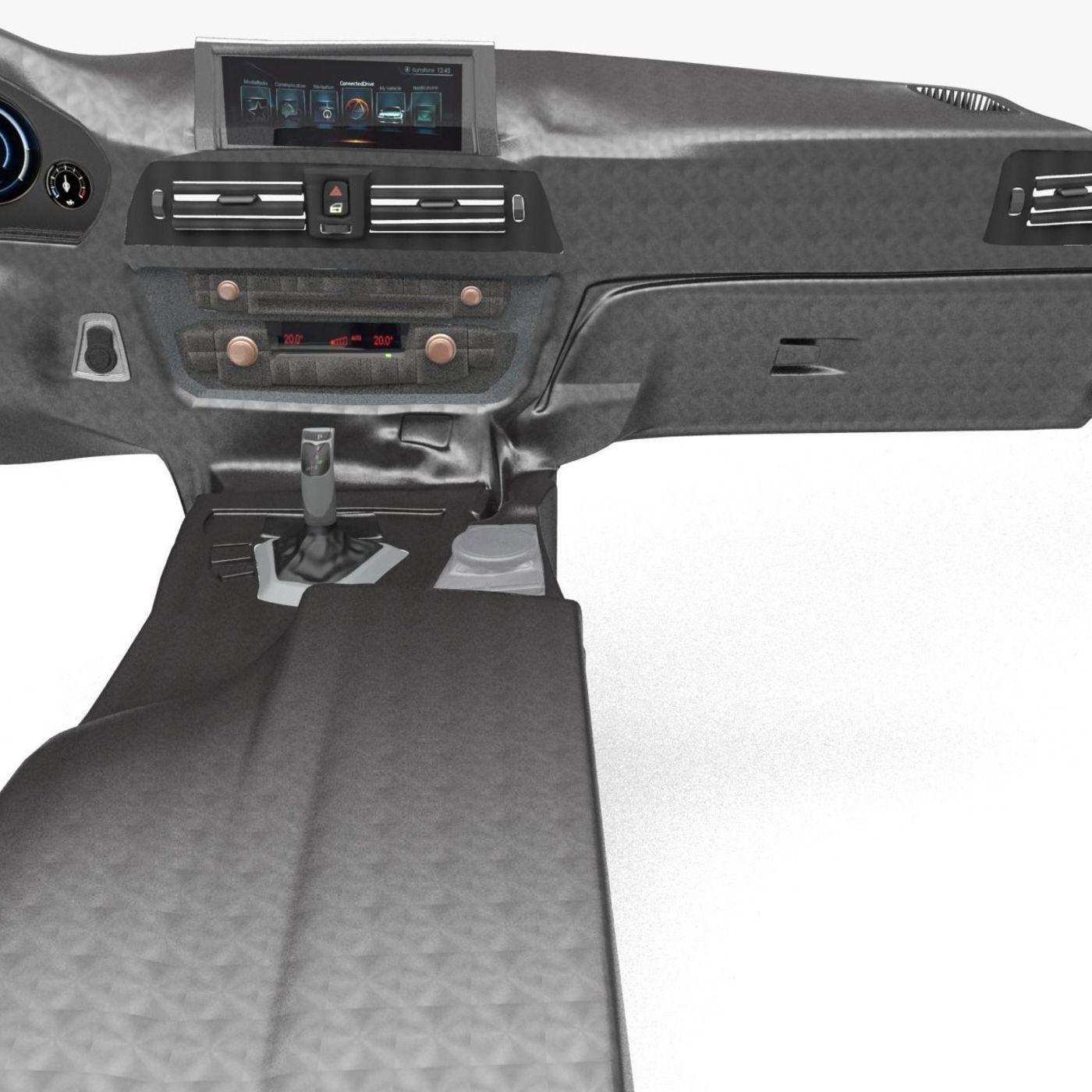 BMW 3 Series M Sport Dashboard-Armrest Basic Model