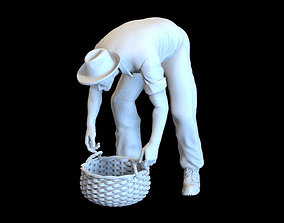 working man 3D printable model