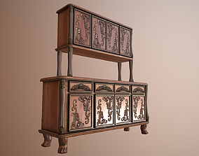 Big Cuisine Storage Cabinet 3D model