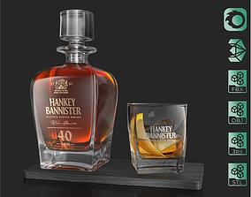 3D Hankey Bannister 40 YO Scotch Premium Whisky Carafe 1