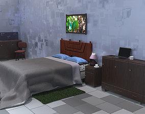 interior Bedroom 3D PBR