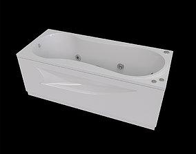 3D asset Bathtub Afrodita