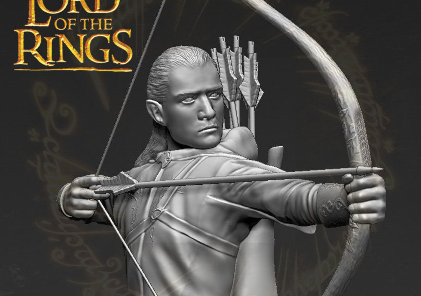 Legolas The Lord of the Rings 3D printable | CGTrader