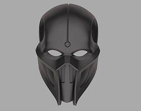 Noob Saibot mask from Mortal Kombat 11 3D print model 2