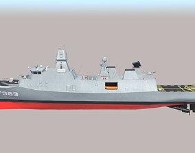 Navy Ship Iver Huitfeldt 3D model