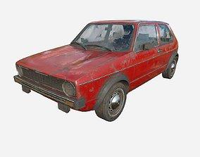 Abandoned Car 46 3D model