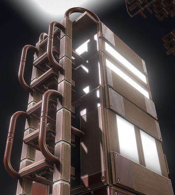 Modular Wood Ladders