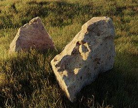 Rock set landscape 3D