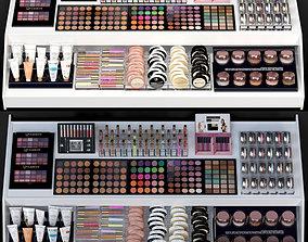Large set of cosmetics 3D