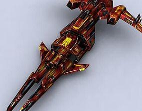 realtime 3DRT - Sci-Fi Fighters Fleet - Fighter 6