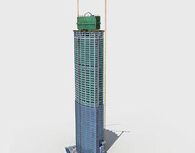 3D Building Construction Site