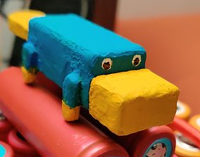 3D print model Platypus USB-Stick