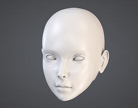 3D printable model Doll Head Kit