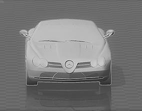 3D print model Car Mercedes SLR