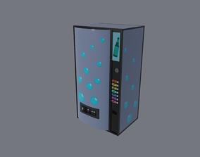 Vending Machine vend 3D model game-ready