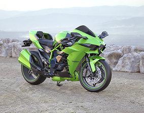 3D model Kawasaki Ninja H2R Supercharged