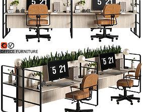 3D model office furniture 10