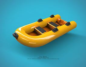Toy Boat 3D printable model yacht