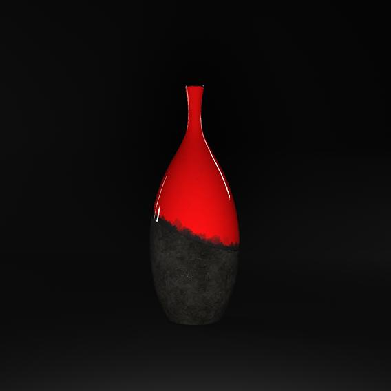 Ceramic - Concrete Vase