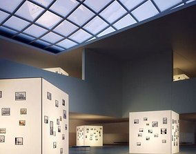 3D Gallery Room Interior