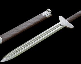 3D model Dagger with Sheath