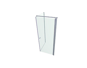 3D asset Shower cabin without shower head