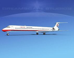 McDonnell Douglas MD-90 China Eastern 3D