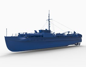 German E-Boat WWII 3D print model
