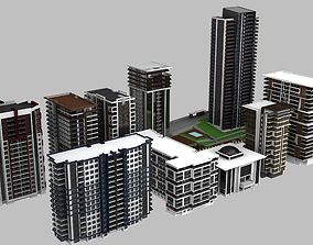 10 Building Model 3ds max